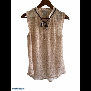 3/$30 H&M sheer sleeveless blouse